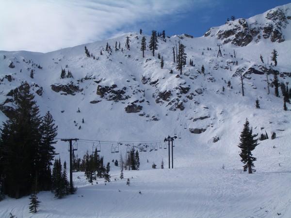 Cornice II zone in fairly low snow.
