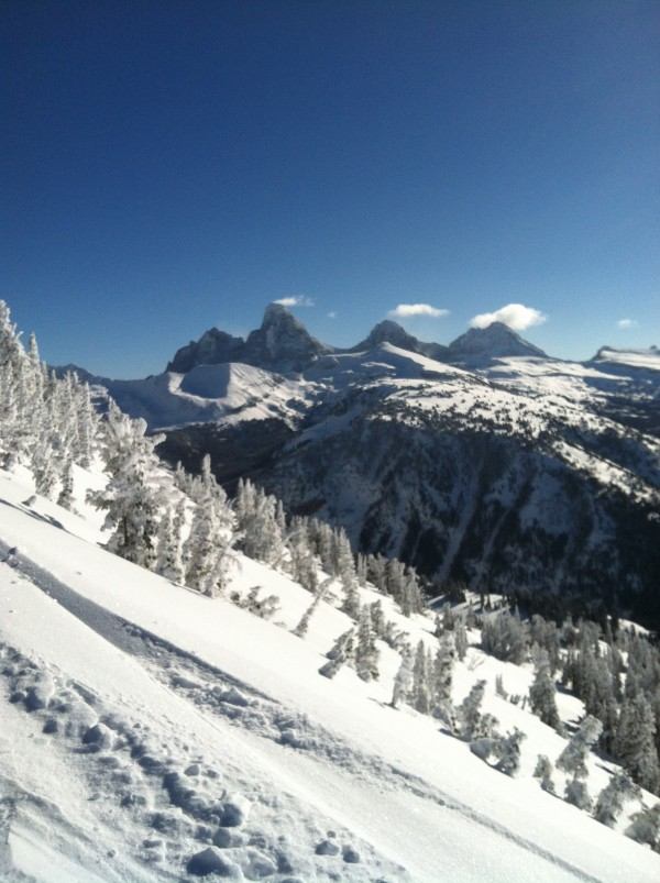 The Grand Teton as seen from Targhee.
