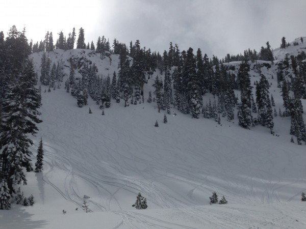 Alpine Meadows on March 1, 2014.