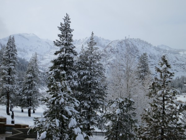 The Valley looks better than it did before the storm but we still need much more snow.