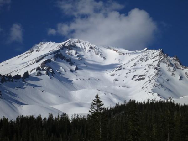 Mt. Shasta on April 12, 2014.