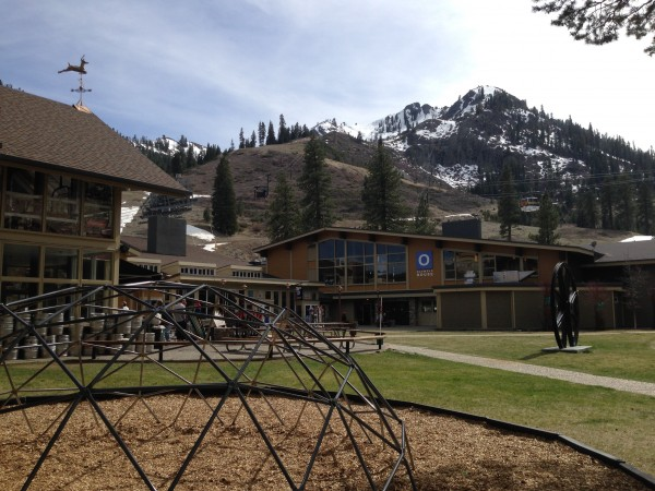 Squaw Valley has experienced warm, balmy weather all season long.