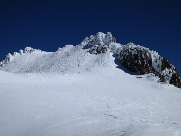 The summit plateau.
