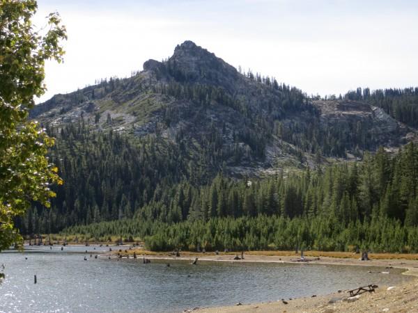 Eureka Peak and Eureka Lake.
