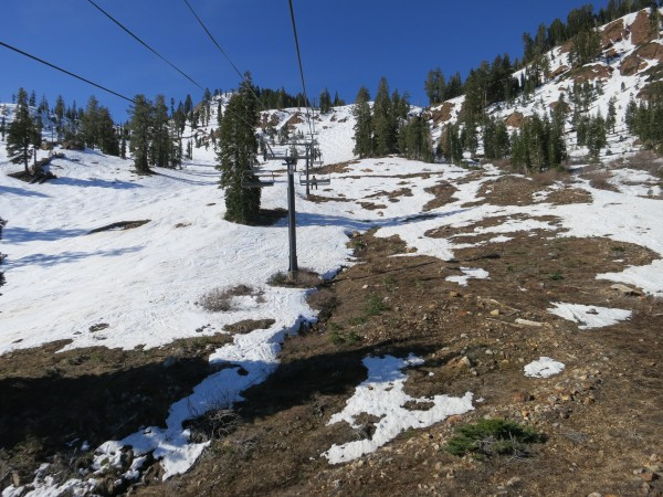 Alpine Meadows on March 29. The resort closes on Easter Sunday, April 5.