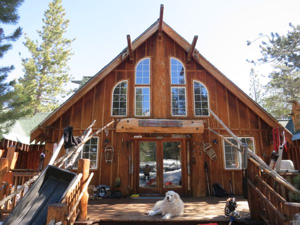 The lost weekend lake tahoe skiing blog for Trail lodge