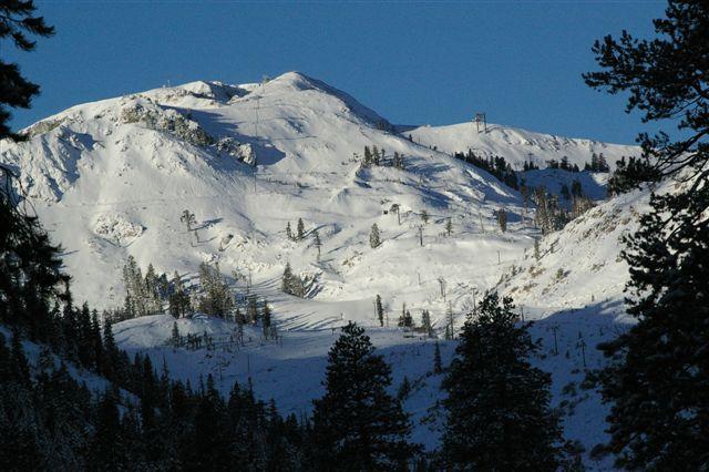 Fresh Snow on Headwall, November 10