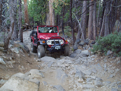 Fordyce Jeep Trail
