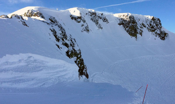 The Palisades, Squaw Valley