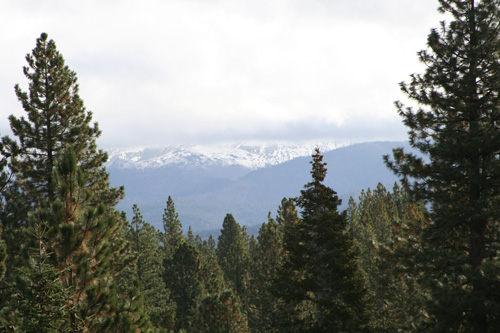Snow in Tahoe, October 4, 2008