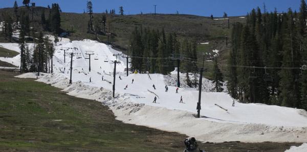 Summer Skiing Riding Boreal