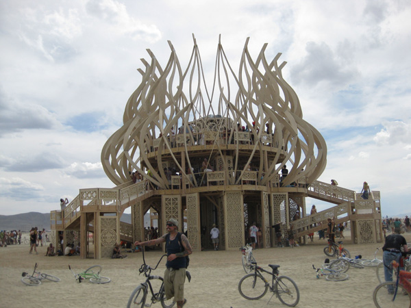 The Temple, Burning Man 2009